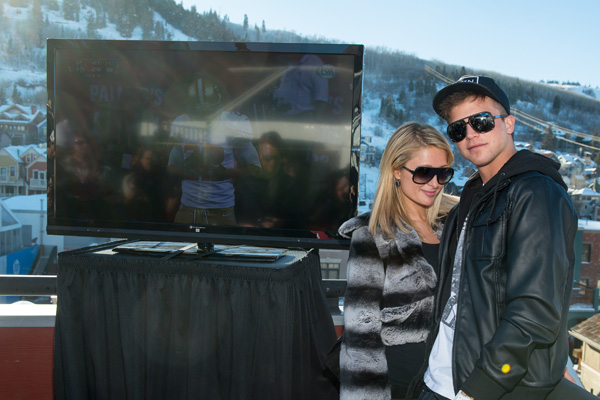 Paris Hilton at 2013 Sundance after party