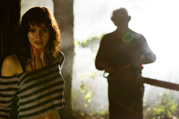 Chainsaw-wielding flick tops charts