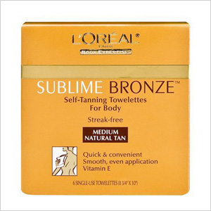 ublime Bronze Tinted Self-Tanning Towelettes