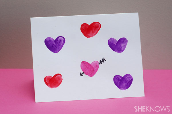Handmade cards for a special Valentine's Day