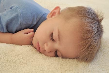 Unconscious toddler