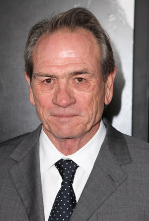 Tommy Lee Jones closeup
