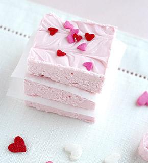 valentines day fudge