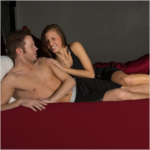SHEEX Red Bed Sheet Set
