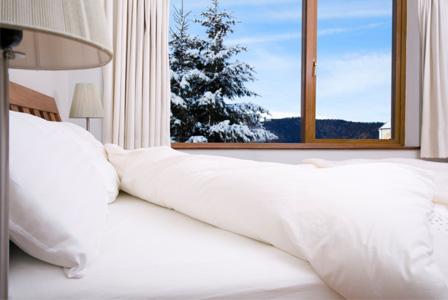 Winter bedroom