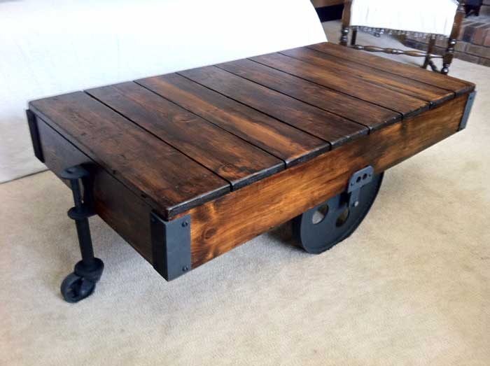 Click here to check out some unique coffee table ideas