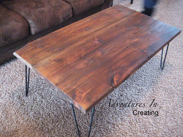 adventures in creating coffee table