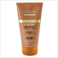 L'Oreal Sublime Self Tanning Lotion