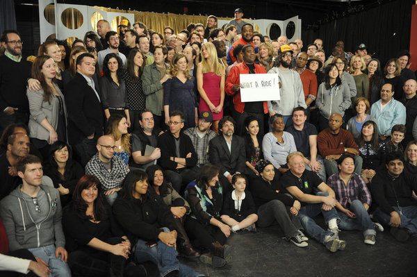 30 Rock finale crew and cast