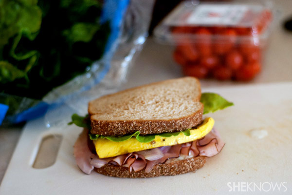 Hawaiian Ham with pineapple apricot spread wrap recipe
