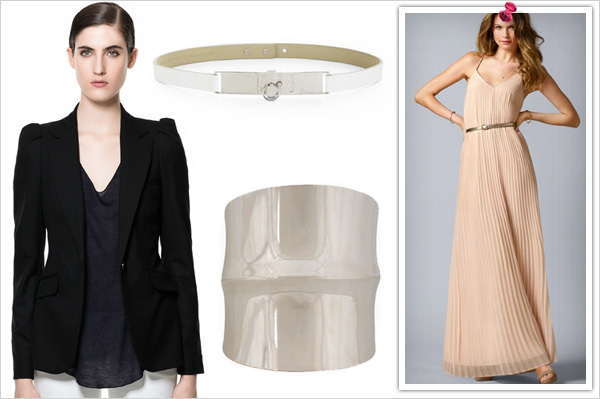 Office Chic: Teamed with a Maxi skirt