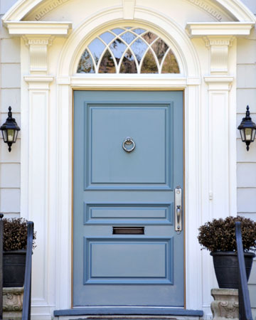 Update your home on a budget for Front door update ideas