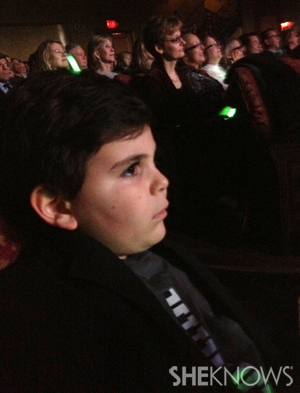 Ethan Walmark at Barry Manilow concert