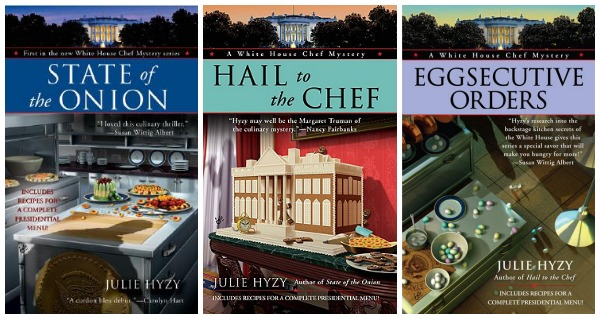 A delicious series of White House mysteries