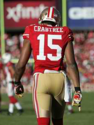 San Francisco 49ers Michael Crabtree