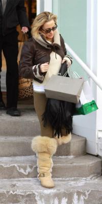Kate Hudson in Aspen