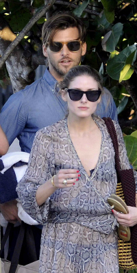 Olivia Palermo and boyfriend vacationing in St. Barts