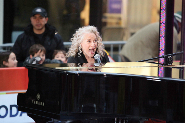 Carole King Performing on the Today Show