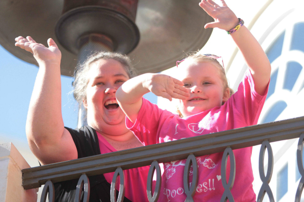 Mama June and Honey Boo Boo at The Grove in Los Angeles