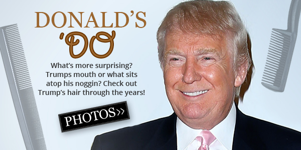Donald's 'Do Over the Years