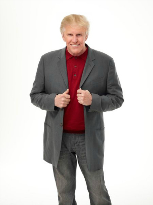 Gary Busey with Donald Trump comb-over