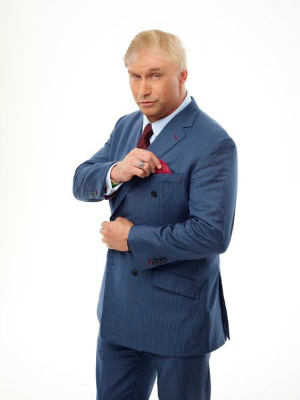 Stephen Baldwin with Donald Trump comb-over