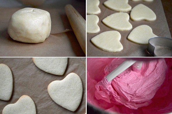 gluten-free sugar cookies process