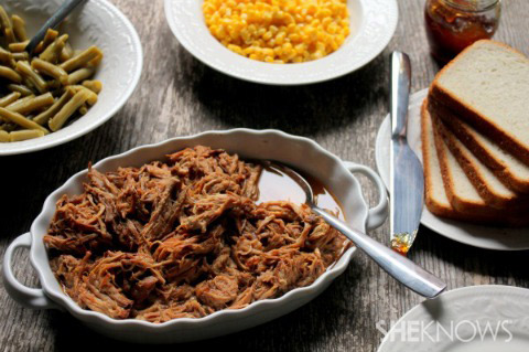 Coca Cola pulled pork