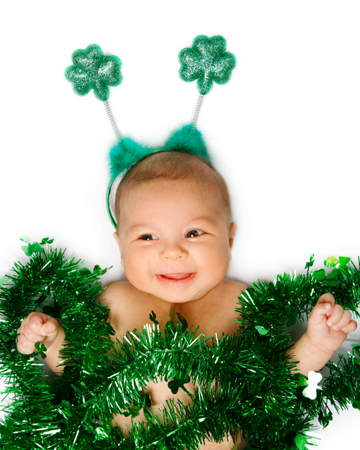 St. patrick's day Baby names