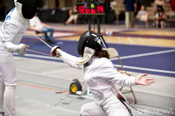 Caroline - fencing