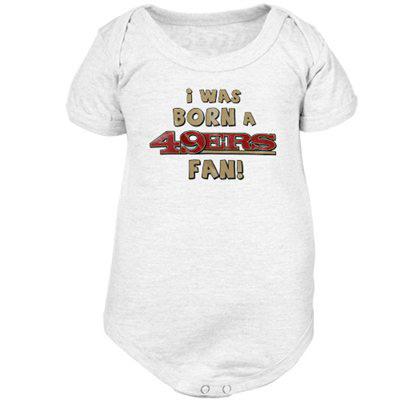 49ers baby onesie