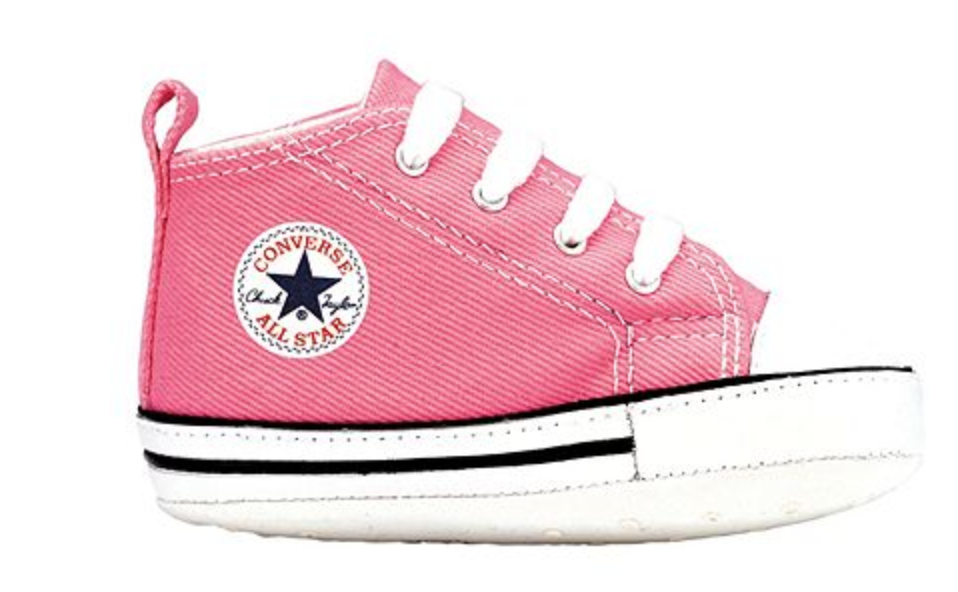 Baby girl shoes: Converse