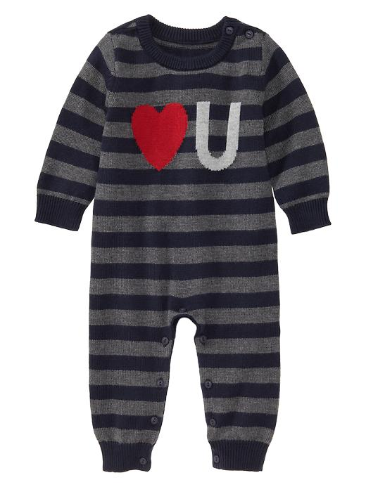Valentine's Day outfit: Gap boy onesie