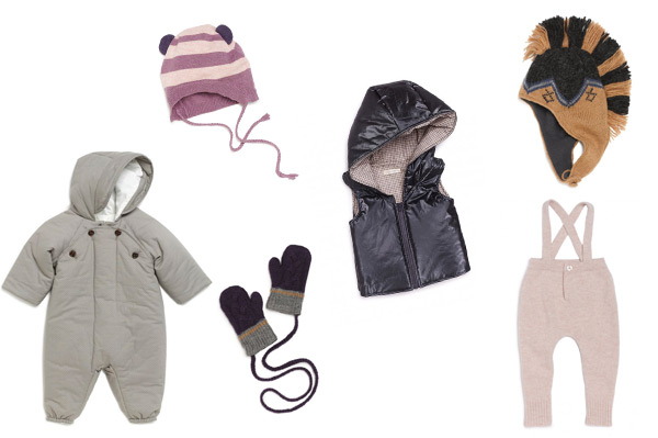 Winter fashion for your tot