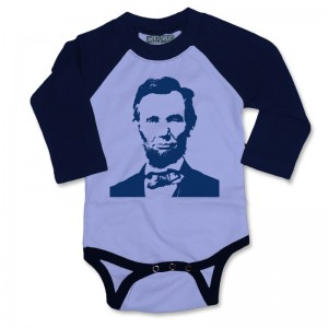 Presidents' Day shirt: Lincoln