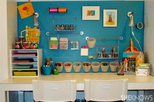 Make a homework nook for your kids