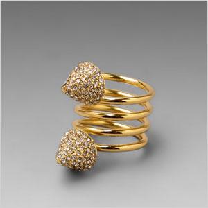Snake spring ring