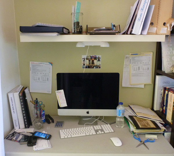 Home Office Makeover Beauteous With Home office makeover before Picture