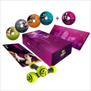 Zumba exhilarating body shaping system