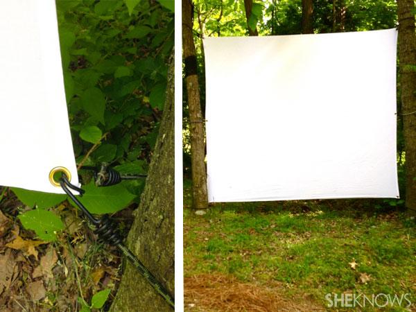 Tree screen setup