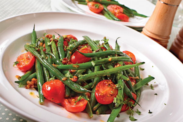 ... salads are nice and this thai green bean salad warm potato green bean