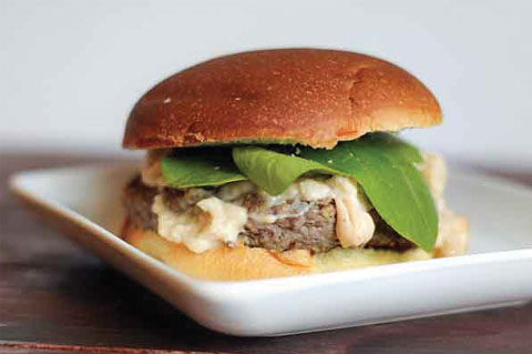 swedish meatball burgers