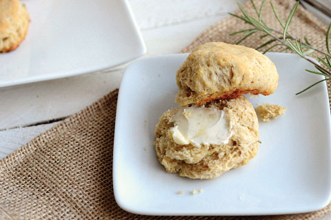 Parmesan rosemary biscuits