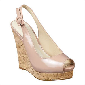 Nine west peep toe wegde
