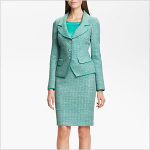 St johns jacket and skirt set
