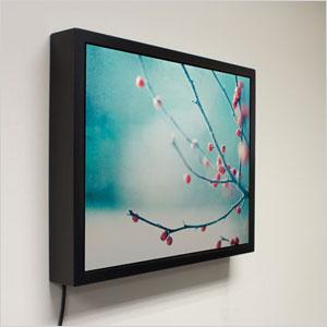 Aframe speaker frame