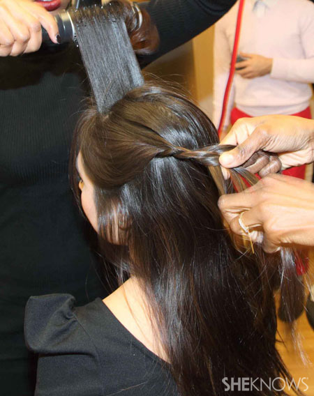 Side braid step 3