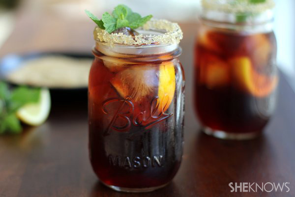 Southern Sweet Tea Spiked southern sweet tea