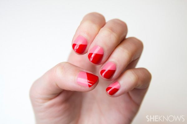 Valentine's Day nail design