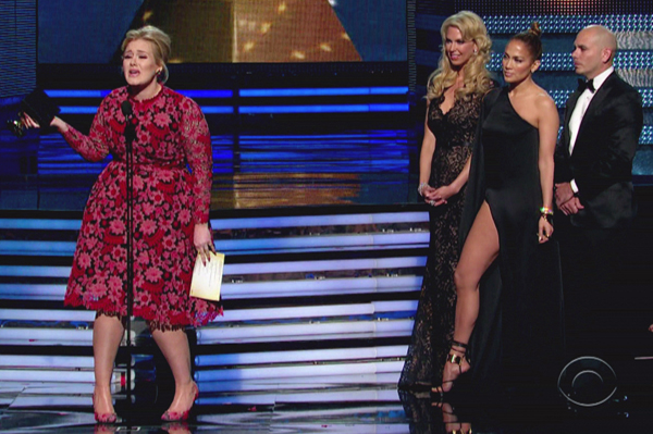 Adele's Grammy moment almost ruined